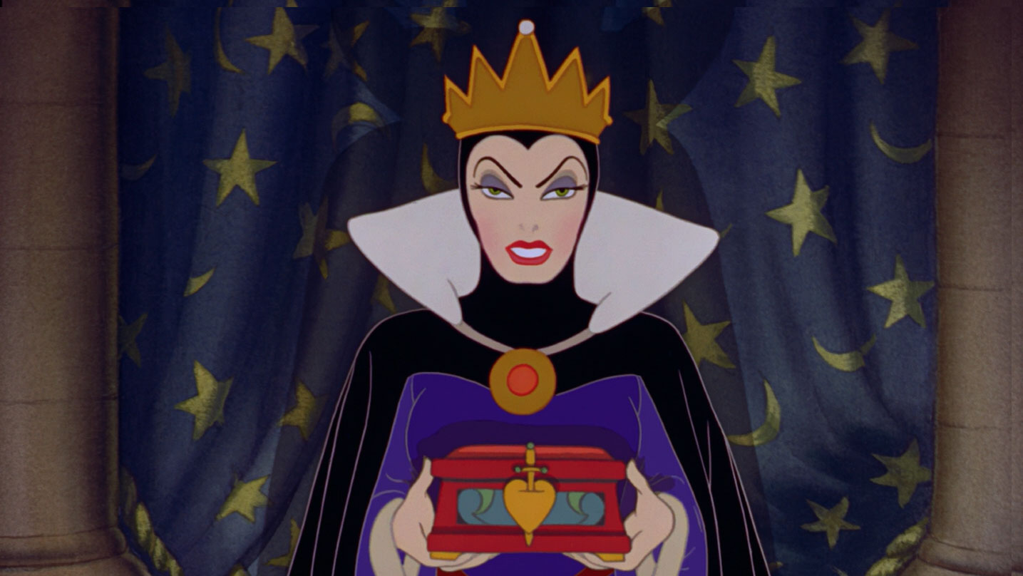 A Rainha má e seu estilo hipercompensador